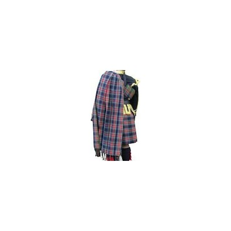 * Heavy weight pure wool Royal Canadian Air Force (RCAF) Tartan Piper Plaid