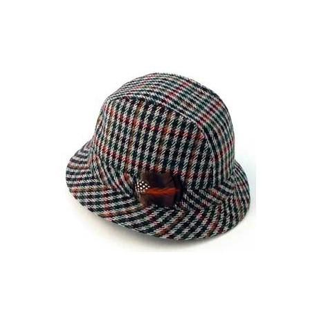 Tweed Trilby Hat