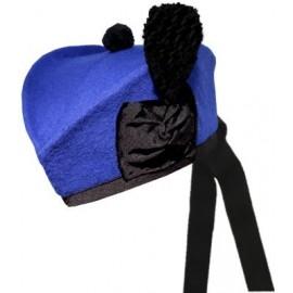 Royal Blue Glengarry Hat