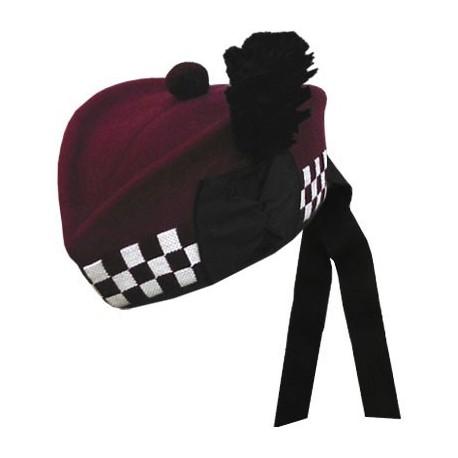 """Airborne Maroon"" Glengarry Hat"