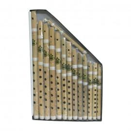 Bamboo Whistle Set