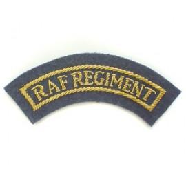 REGIMENT TITLES RAF