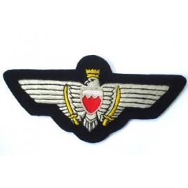 Bahrain Air Force Pilot Wings in Silks