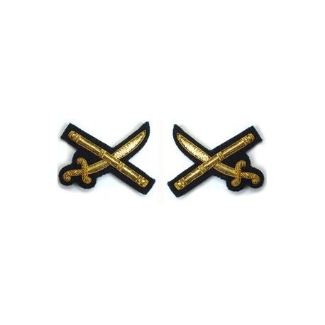 Brunei General Full Sized Cross Sword & Baton