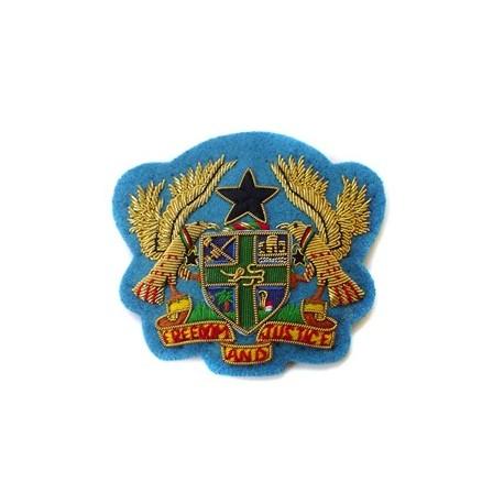 GHANA EMBASSY CAP BADGE