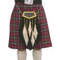 Clan Buchanan 5 Tassel Horsehair Sporran