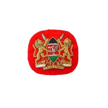 KENYAN COLONEL CAP BADGE