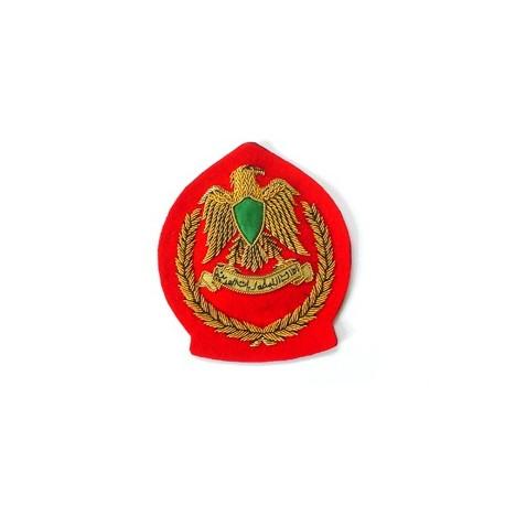 LIBYA JUNIOR OFFICERS BERET BADGE