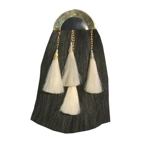 Clan MacKenzie 4 Tassel Horsehair Sporran