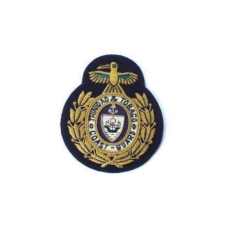 Trinidad and Tobago Fleet Chief Petty Officer's Coast Guard Cap Badge
