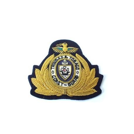 Trinidad and Tobago Officer's Coast Guard Cap Badge
