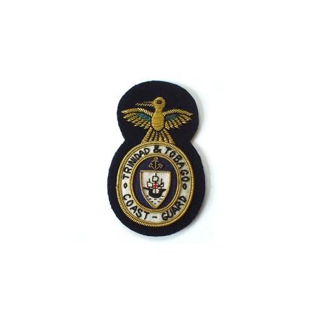 Trinidad and Tobago Petty Officer Coast Guard Cap Badge