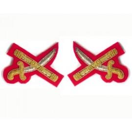 ZIMBABWE ARMY X SWORD AND BATON