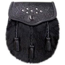 Black Rabbit Semi Dress Sporran