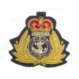 JAMAICA DEFENCE FORCE COASTGUARD CAP BADGE