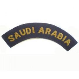 SAUDI ARABIA TITLES ON EX DARK NAVY