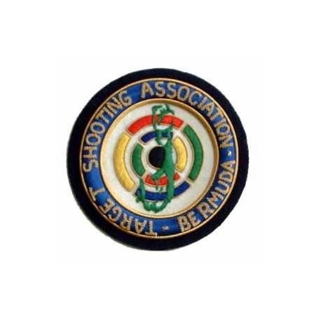 TARGET SHOOTING ASSOCIATION OF BERMUDA BLAZER BADGE