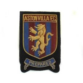 ASTON VILLA FC BLAZER BADGE