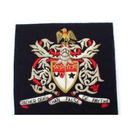 Sir Walter St John's School Blazer Badge (Silver)