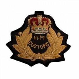 HM CUSTOMS CAP BADGE