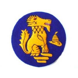 LION'S RAMPANT BLAZER BADGE
