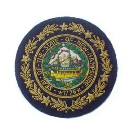 STATE OF NEW HAMPSHIRE BLAZER BADGE