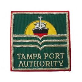 TAMPA PORT AUTHORITY BLAZER BADGE