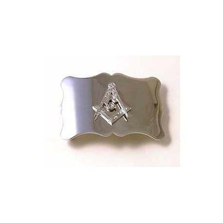 Plain Masonic Belt Buckle