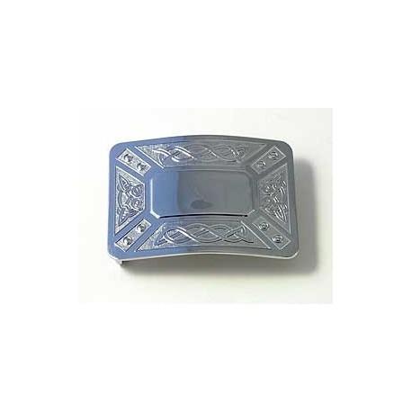 Zoomorphic Belt Buckle With Velcro Leather Belt
