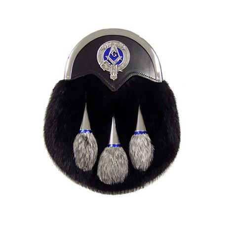 Masonic Muskrat Sporran