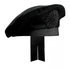 Black Wool Irish Caubeen