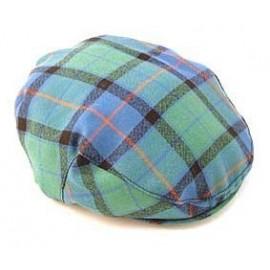 Gent's Worsted Wool Tartan Flat Cap