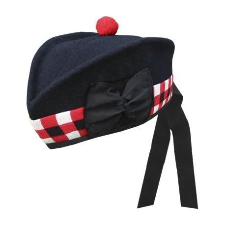 Navy Glengarry Hat