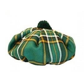 Gents' Irish Tartan Wool Tam by Balmoral