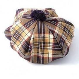 Gents Lightweight Tartan Tammy Hat