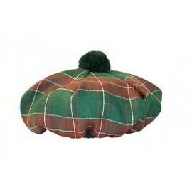 Gents' Welsh Tartan Wool Tam by Balmoral