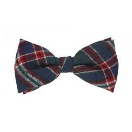 Tartan Bow Tie -Wing/Elasticc