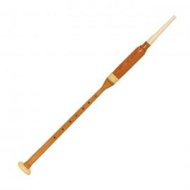 (Item Code: BAGN) Long Practice Chanter, Cocus Wood