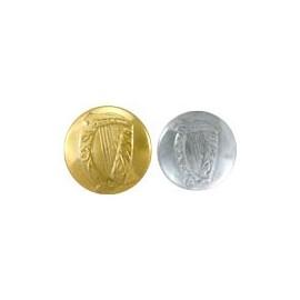 Irish Harp Uniform Buttons
