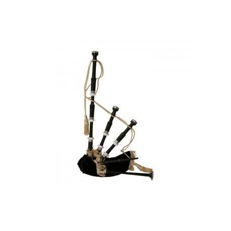 GHW-02 Bagpipe, Black Rosewood, Black Cover