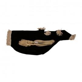 (Item Code: BGRB) Bagpipe Cover & Cord, Black