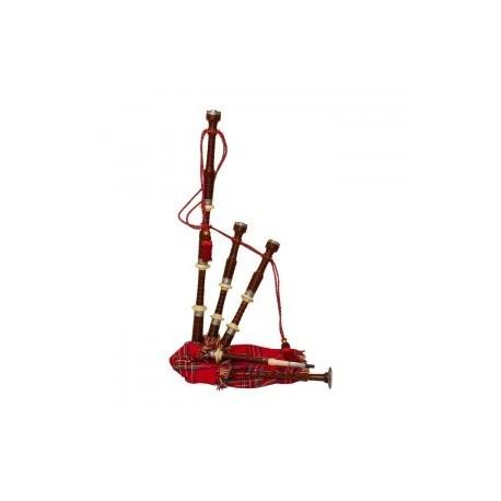 GHW-16 Bagpipe, Engraved, Rosewood,Tartan Cover