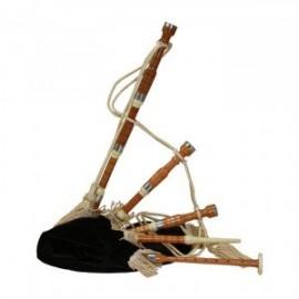 GHW-19 Bagpipe, Miniature, Cocus, Black Cover