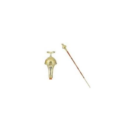 GHW-03 Drum Major's Maces, golden or nickel0