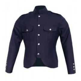 GHW-03 Canadian Police Style Cutaway Tunic in Navy Blue Gabardine Wool