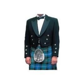 GHW-02 The Prince Charlie & waistcoat top quality Barathea