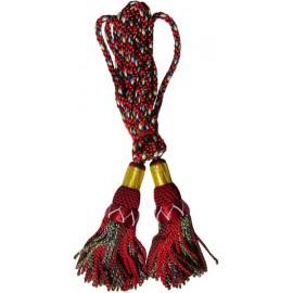 Royal Stewart Silk Bagpipe Cords