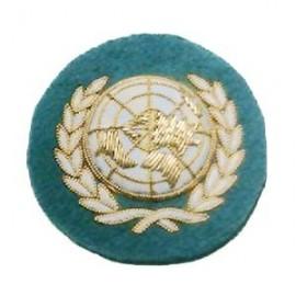 UNITED NATIONS CAP BADGE