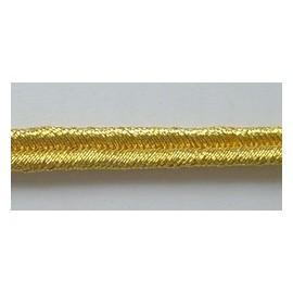 GOLD MYLAR RUSSIA 3/16 INCH BRAID
