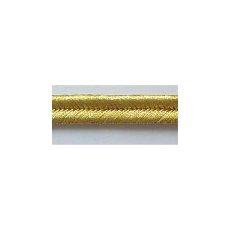 GOLD 2 W/M 5/32 INCH (NO.3) RUSSIA BRAID